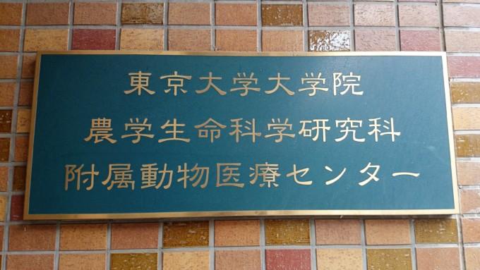 東京大学動物医療センター正式名称