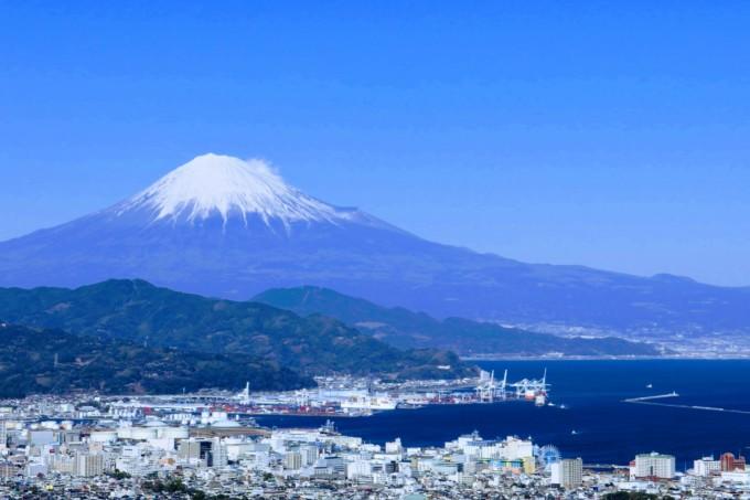 ティアラと一緒にみた富士山